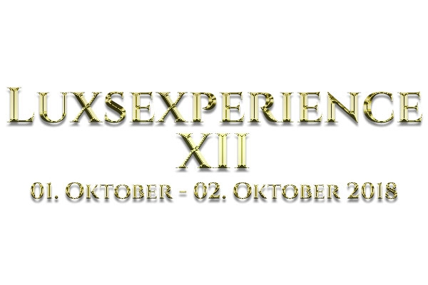 LuxSexperience Oktober 2018